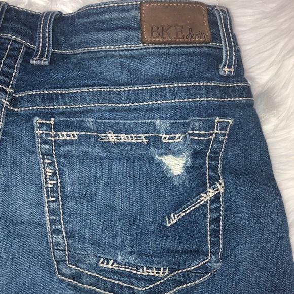 BKE Buckle Pants - BKE Payton Denim Shorts Size 31